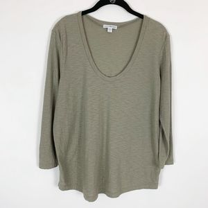 Standard James Perse Top T-Shirt Women's 2 Medium
